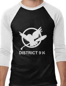 District 9 3/4 Men's Baseball ¾ T-Shirt
