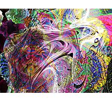 Three-layer blended abstract (UF0397)  Photographic Print