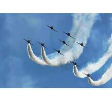 Red Arrows ~ Lyme Regis Photographic Print