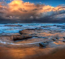 Winter Sunset by Ian English