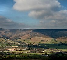 Edale Valley by cameraimagery