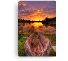 Relax, it's October Canvas Print