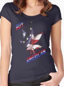 Buy American Women's Fitted Scoop T-Shirt