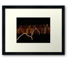 shadow walkers.... Framed Print