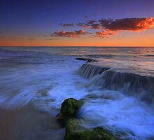 Beach Waterfall by Jill Fisher