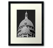The Basilica of the Sacred Heart of Paris Framed Print