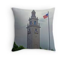 Dorchester Heights monument Throw Pillow