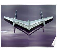 1956 Pontiac Star Chief ~ Hood Ornament Poster