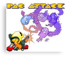 Pac Attack Canvas Print