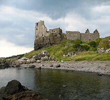 Dunure Castle by RSMphotography