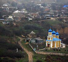 old orhei, trebujeni church. by Alexandra Brovco