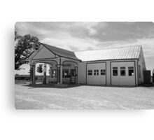 Route 66 - Odell Gas Station Canvas Print