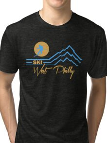 Ski West Philly Tri-blend T-Shirt