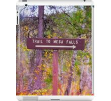 Trail To Mesa Falls iPad Case/Skin