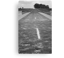 Route 66 - Brick Highway Canvas Print