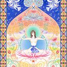 White Tara - Wisdom by Gill Rippingale