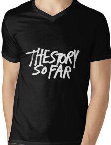 The Story So Far Logo (White on Black) Mens V-Neck T-Shirt