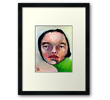 Imperfections are just perfect Framed Print