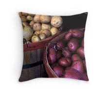 Potatoes ! Throw Pillow