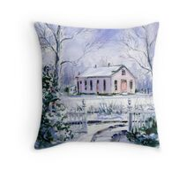 Old Lipscomb Elementary School Throw Pillow