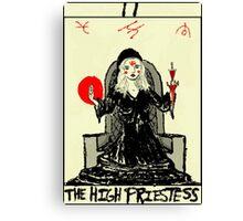 Tarot: The High Priestess Canvas Print