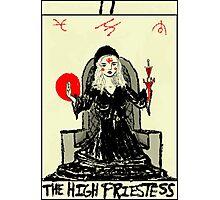 Tarot: The High Priestess Photographic Print