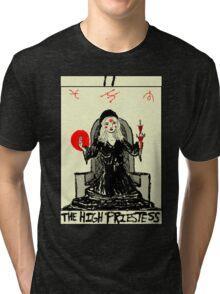 Tarot: The High Priestess Tri-blend T-Shirt