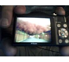 Our War Project_Skype Video Call Snapshot March 25 2011 Photographic Print