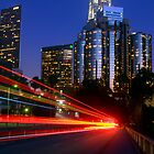 Downtown Los Angeles at Night by Daisy Yeung