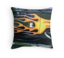 Street Rod Art: Beauty Throw Pillow