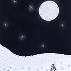 Winter Moon #2 by Lynn Evenson