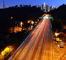 110 FWY to Downtown L.A. by Daisy Yeung