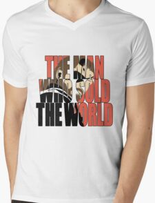The Man Who Sold The World Mens V-Neck T-Shirt