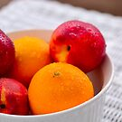 Bowl A Fruit by Christopher Gaines