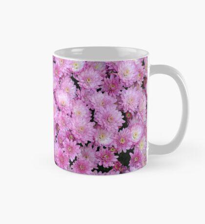 Pink chrysanthemum flowers Mug