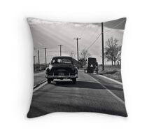 History in the passing Throw Pillow