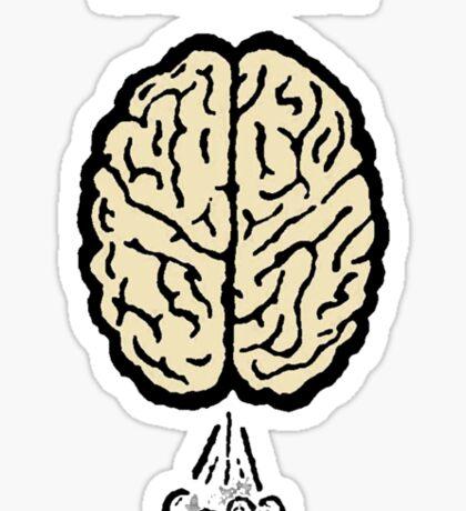Brain Fart Sticker