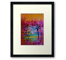 Is this a Dream? watercolor Framed Print