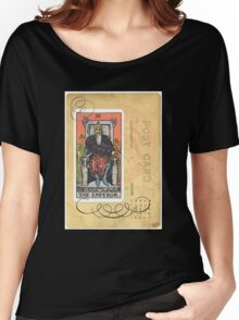 The Emperor Tarot Card Fortune Teller Women's Relaxed Fit T-Shirt
