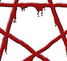 Bloody Devil's trap Sticker