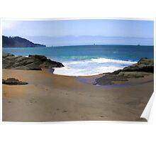 Quite A Summer - Baker Beach Poster