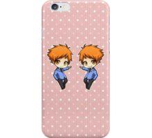 Ouran - Hikaru/Kaoru set iPhone Case/Skin