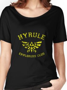Hyrule Explorers Club Dark Women's Relaxed Fit T-Shirt