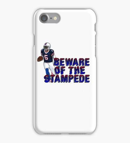 Tyrod Taylor - Buffalo Bills iPhone Case/Skin