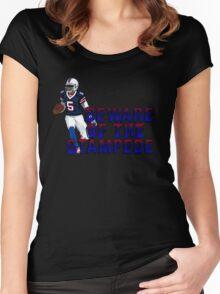 Tyrod Taylor - Buffalo Bills Women's Fitted Scoop T-Shirt