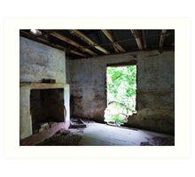 Carrington Row cottage interior Art Print