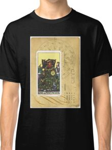 King Of Pentacles Tarot Card Classic T-Shirt