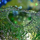 Green water circle by Natalia1380
