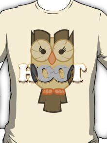 Owlowiscious - Hoot T-Shirt