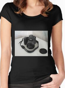 My New Camera Women's Fitted Scoop T-Shirt